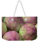 Lotus Buds Weekender Tote Bag