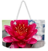 Lotus Cloud Weekender Tote Bag