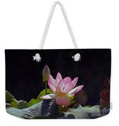 Lotus Enchantment Weekender Tote Bag