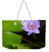 Lotus Flower And Lily Pad Weekender Tote Bag