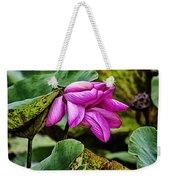 Lotus Flower- Gungarre Billabong Weekender Tote Bag