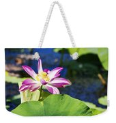 Lotus Flower V6 Weekender Tote Bag