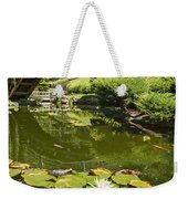 Lotus Garden - Japanese Garden At The Huntington Library. Weekender Tote Bag