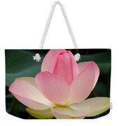 Lotus In Bloom Weekender Tote Bag
