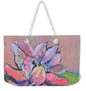 Lotus Iv Weekender Tote Bag by Shadia Derbyshire
