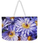 Lotus Light - Hawaiian Tropical Floral Weekender Tote Bag