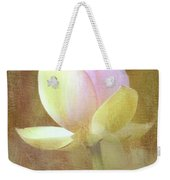 Lotus Looking To Bloom Weekender Tote Bag