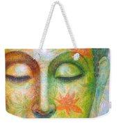 Lotus Meditation Buddha Weekender Tote Bag