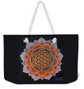 Lotus Of Life Weekender Tote Bag