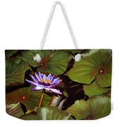 Lotus One Weekender Tote Bag