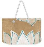 Lotus Serenity Weekender Tote Bag