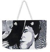 Lou Reed In Pools Weekender Tote Bag