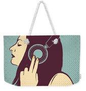 Loud Silence Weekender Tote Bag