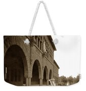 Louis Agassiz In The Concrete Most Famous Image Associated With Stanford University 1906 Earthquake Weekender Tote Bag