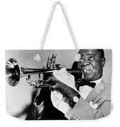 Louis Armstrong (1900-1971) Weekender Tote Bag by Granger