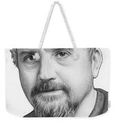 Louis Ck Portrait Weekender Tote Bag by Olga Shvartsur