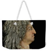 Louis Xiv 1638-1715 1706 Mixed Media Weekender Tote Bag