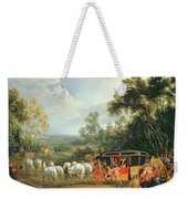 Louis Xiv In His State Coach Weekender Tote Bag