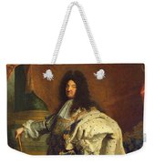 Louis Xiv In Royal Costume, 1701 Oil On Canvas Detail Of 59867 Weekender Tote Bag