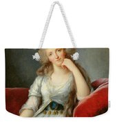 Louise-marie Adelaide, Duchesse Dorleans Oil On Canvas See Also 91622 Weekender Tote Bag