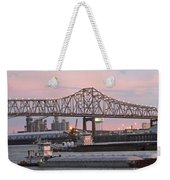Louisiana Baton Rouge River Commerce Weekender Tote Bag