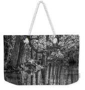 Louisiana Bayou - Bw Weekender Tote Bag