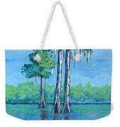 Louisiana Cypress Weekender Tote Bag