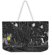 Louisiana Moon Rising Monochrome 2 Weekender Tote Bag