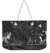 Louisiana Moon Rising Monochrome  Weekender Tote Bag