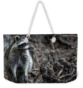 Louisiana Raccoon Weekender Tote Bag