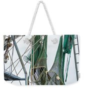 Louisiana Shrimp Boat Nets Weekender Tote Bag