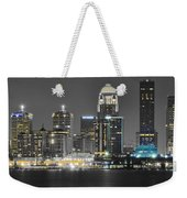 Louisville Lights Up Weekender Tote Bag