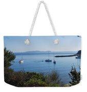 Loutsi Bay 5 Weekender Tote Bag