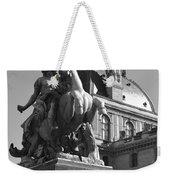 Louvre Man On Horse Weekender Tote Bag