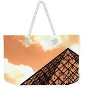 Louvre Pyramid Top Edited Weekender Tote Bag