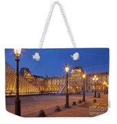 Louvre Twilight Weekender Tote Bag