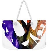 Love 1 - Heart Hearts Romantic Art Weekender Tote Bag