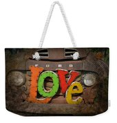 Love And A Ford Truck Weekender Tote Bag