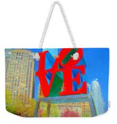 Love And Cherry Blossoms Weekender Tote Bag