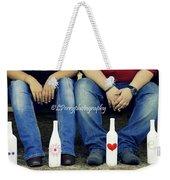 Love And Denim Weekender Tote Bag