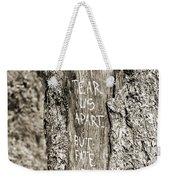 Love And Fate Weekender Tote Bag
