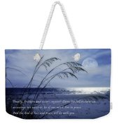 Love And Peace Be With You Weekender Tote Bag