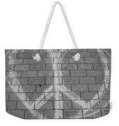 Love And Peace Weekender Tote Bag