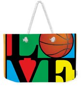 Love Basketball Weekender Tote Bag