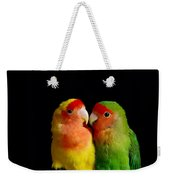 Love Birds At First Sight Weekender Tote Bag