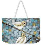 Love Birds Weekender Tote Bag