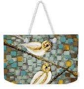 Love Birds- Warm Tone Weekender Tote Bag