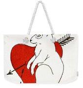 Love Bunny Weekender Tote Bag