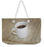 Love Coffee And Music Weekender Tote Bag