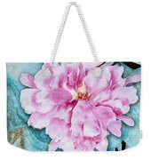Love Double Happiness With Red Peony Weekender Tote Bag